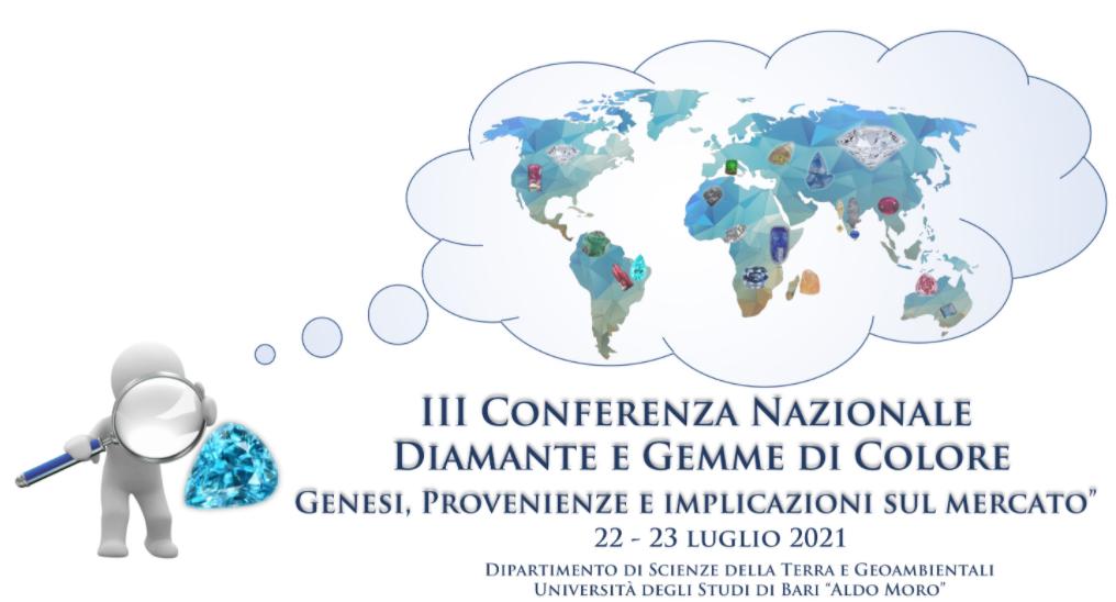 III Conferenza Nazionale sul Diamante e le Gemme di Colore