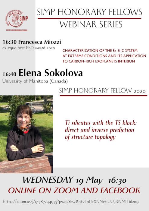Webinar Honorary Fellow SIMP 2020 Elena Sokolova